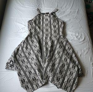 Bogo Black & White Dress Juniors Size L